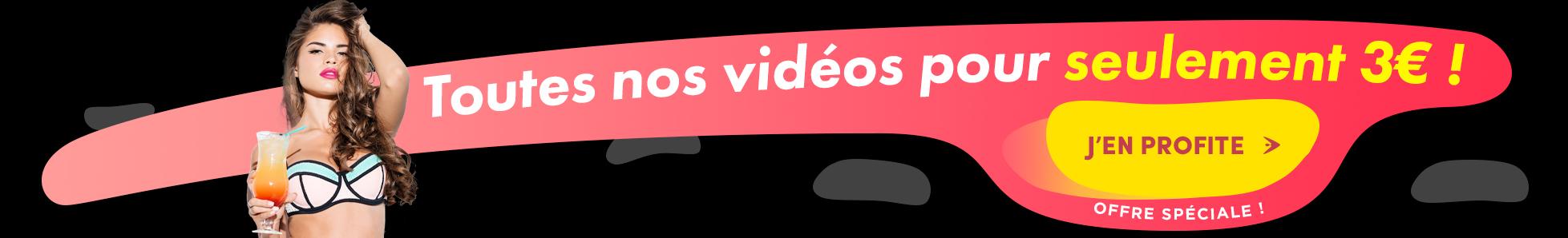 Toutes les vidéo porno de beurettes en illimité pendant 24h pour seulement 3€